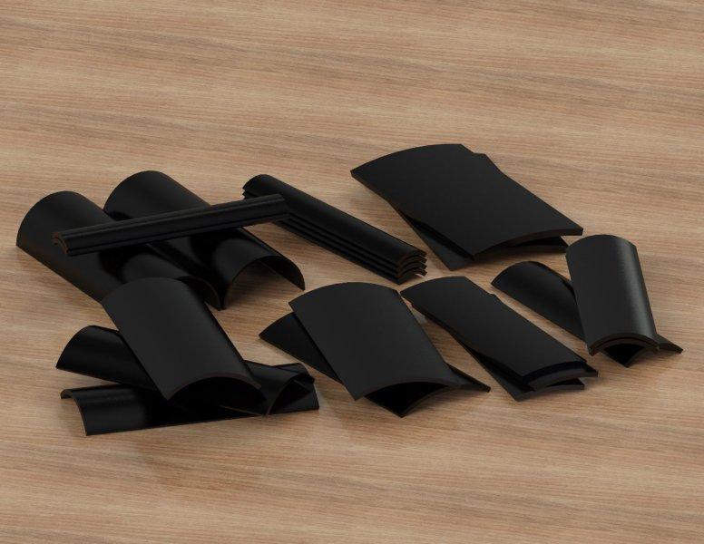 Cogbill-RedLine-Misc.-Sizes-Composite-Wear-Pads