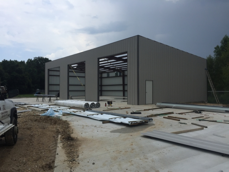 Cogbill Construction Industrial Warehouse Construction