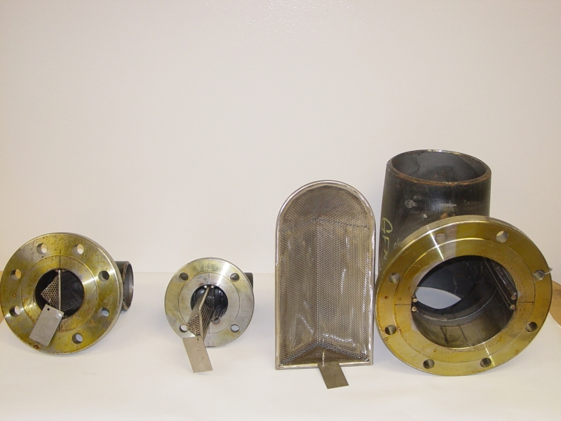 Cogbill Construction Pipe Tees and Strainers Pipe Fabrication