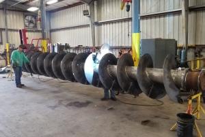 40-Foot-Auger-Cogbill-Construction-Plate-Fabrication-Welding