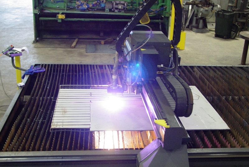 Cogbill Construction CNC Plasma Cutting Stainless Steel Fabrication