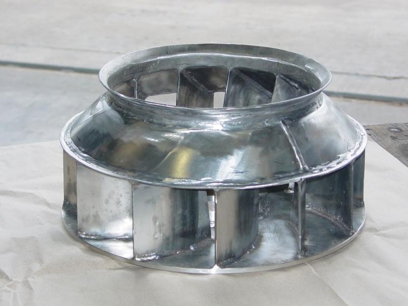 Cogbill Construction Plate Fabrication Custom Built Metal Turbine