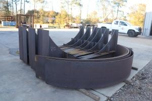 Large-Welded-Pipe-Shoe-RedLineIPS-Cogbill-Construction