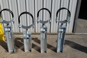 Adjustable-Base-Support-with-U-Bolt-Liner-RedLineIPS-Cogbill-Construction
