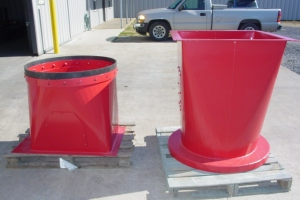 Various-Round-to-Square-Transitions-Cogbill-Sheet-Metal-Fabrication