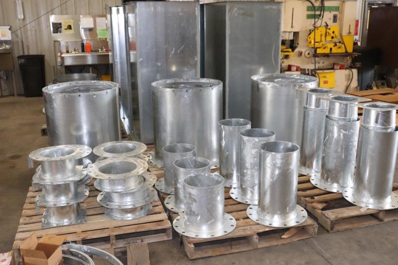 Cogbill Construction Sheet Metal Fabrication Custom Metal Ducting