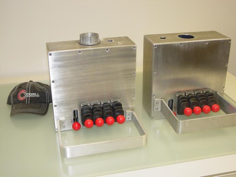 Cogbill Construction Sheet Metal Fabrication Custom Control Electrical Box