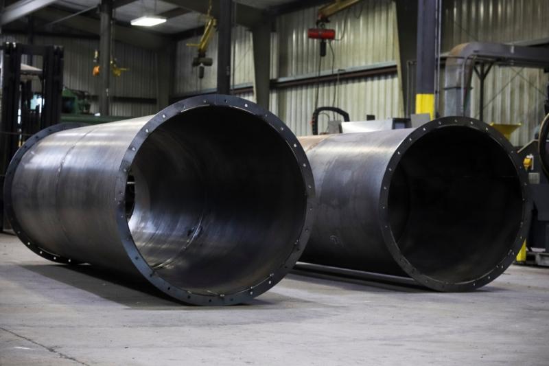 Cogbill Construction Sheet Metal Fabrication Rolled Sheet Metal