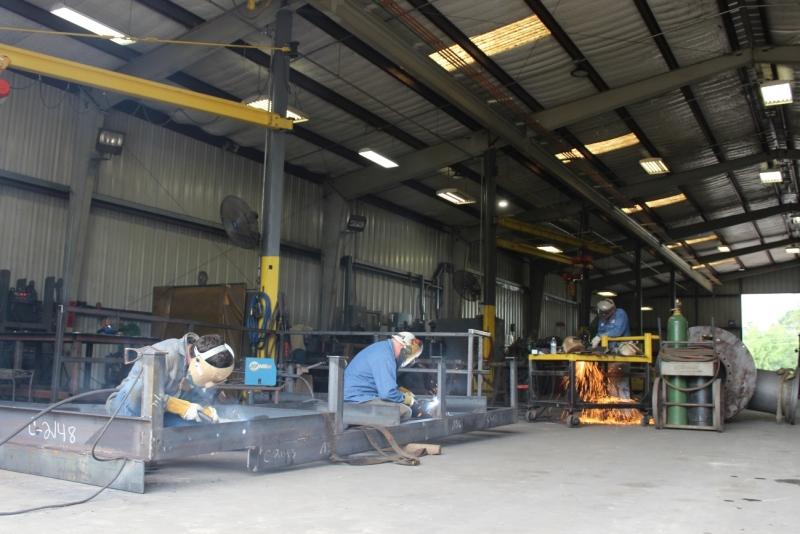 Cogbill Construction Structural Fabrication Platform
