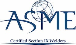 Cogbill Construction Certified Section IX Welders