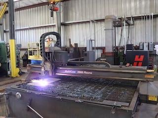 Cogbill Construction Plate Fabrication CNC Plasma Table Plate Cuttin