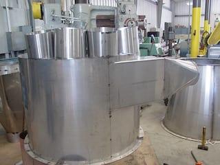 Cogbill Construction Sheet Metal Fabricated Cyclone