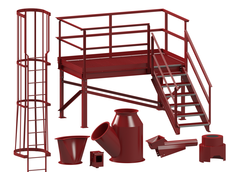 3D CADCAM Modeling Capabilities at Cogbill Construction