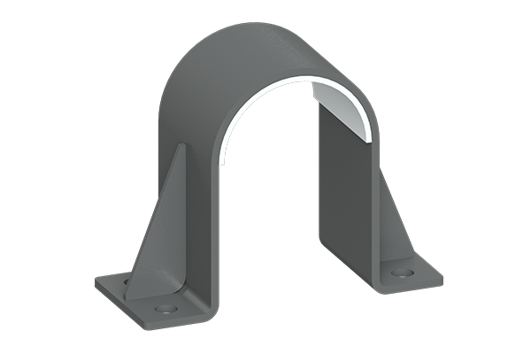 Cogbill Construction RedLineIPS Clamp Pipe Support with Composite Liner