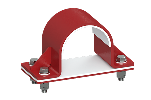 Cogbill ConstructionRedLineIPS Hold Down Clamp with Liner & Shim Block Assembly