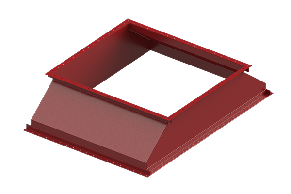Cogbill Construction Sheet Metal Fabrication Transition