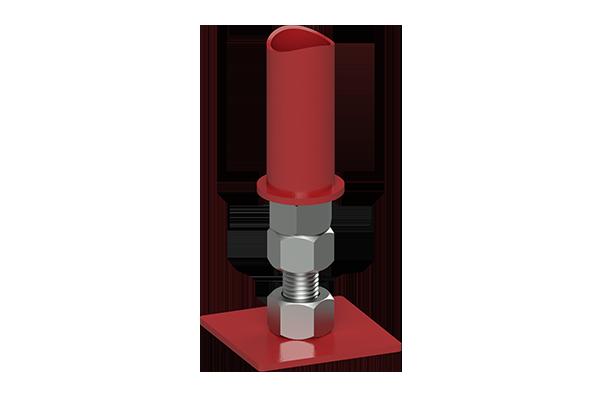 Cogbill Construction RedLineIPS Adjustable Base Pipe Support