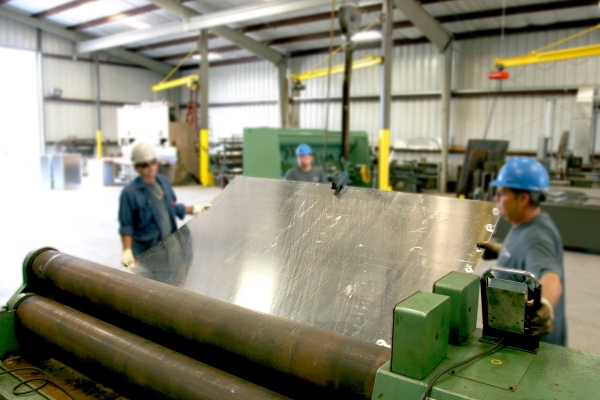Cogbill Construction Plate Fabrication Plate Rolling