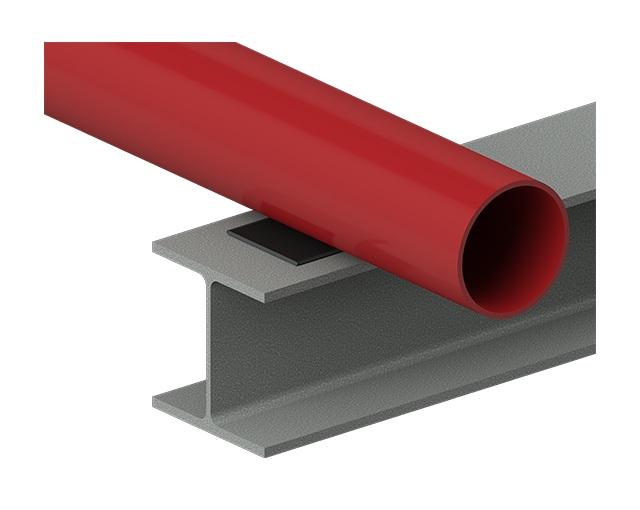 Cogbill RedLineIPS Composite Flat Pad Between Beam & Pipe