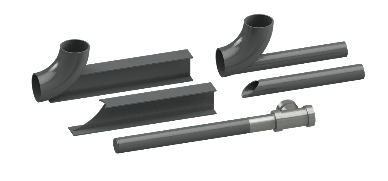 Cogbill Construction RedLineIPS Dummy Legs Pipe Supports