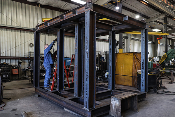 Cogbill Construction Structural Fabrication Manufacturing of Structural Platform