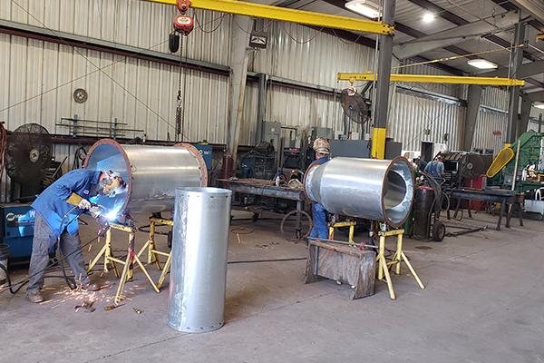 Cogbill Construction Sheet Metal Fabrication Welding