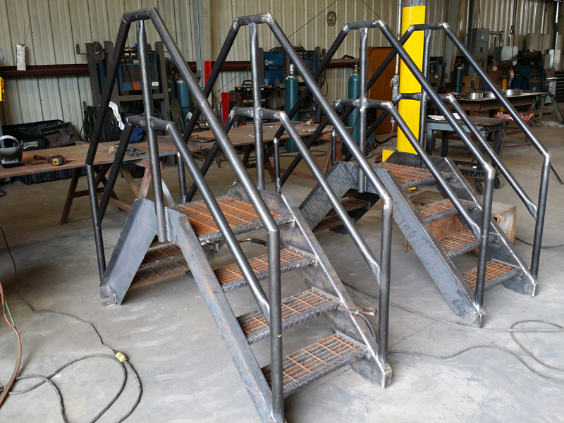Cogbill Construction Metal Stairs & Handrails Structural Fabrication