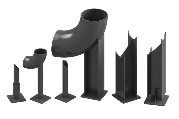 Cogbill Construction RedLineIPS Non-Adjustable & One-Time Adjustable Pipe Supports