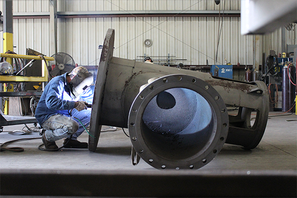 Cogbill Construction Pipe Fabrication & Welding