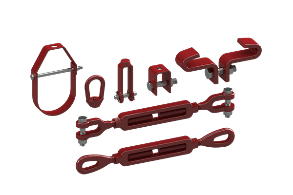 Cogbill Construction RedLineIPS Piping Accessories Pipe Hanger Parts
