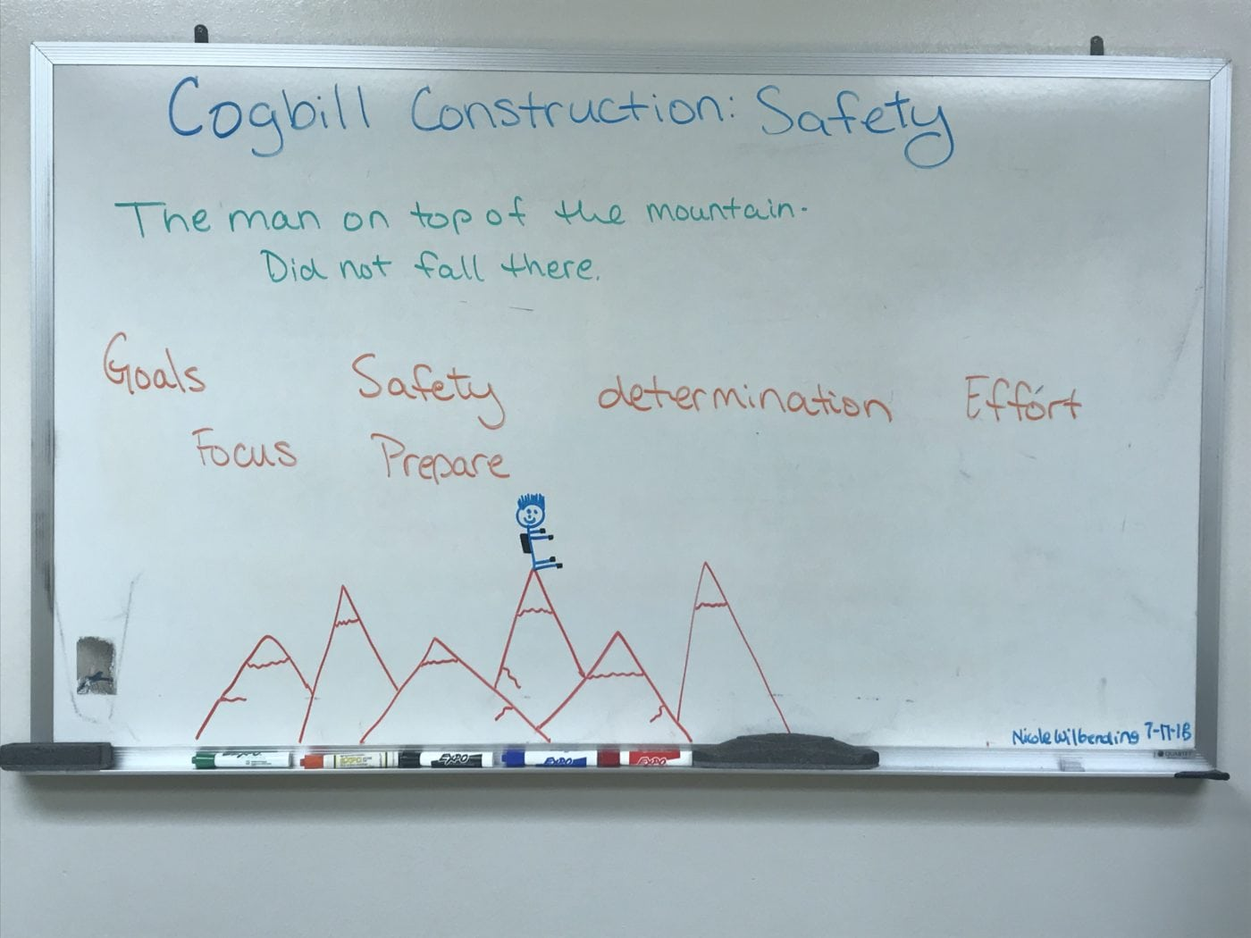 From Cogbill Kitchen | Focus & Safety