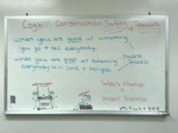 Work Area Inspection | Cogbill Safety