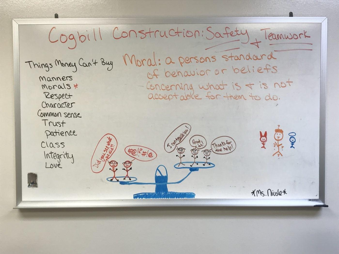 Boosting Morale